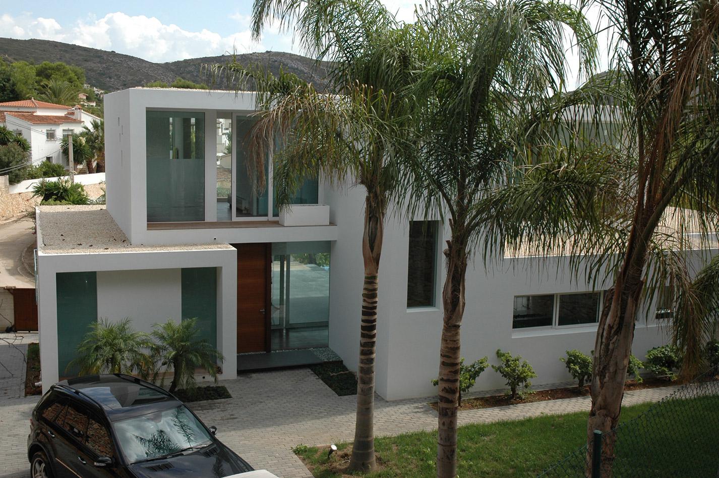 casa Moraira diseño lujo bac estudio arquitectura