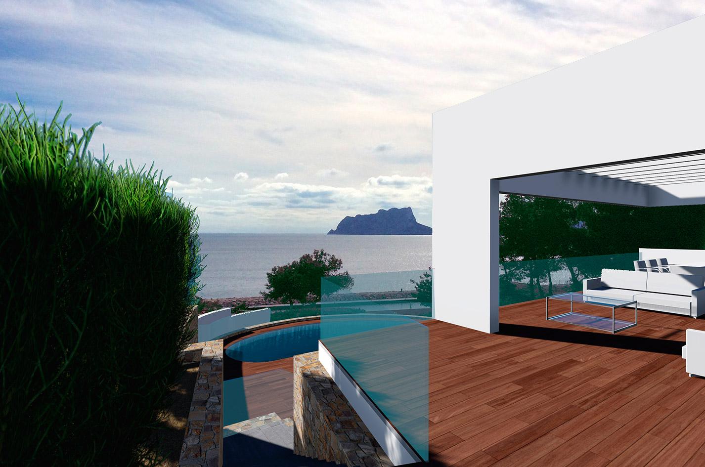 casa diseño Moraira Tosqueras lujo bac arquitectura