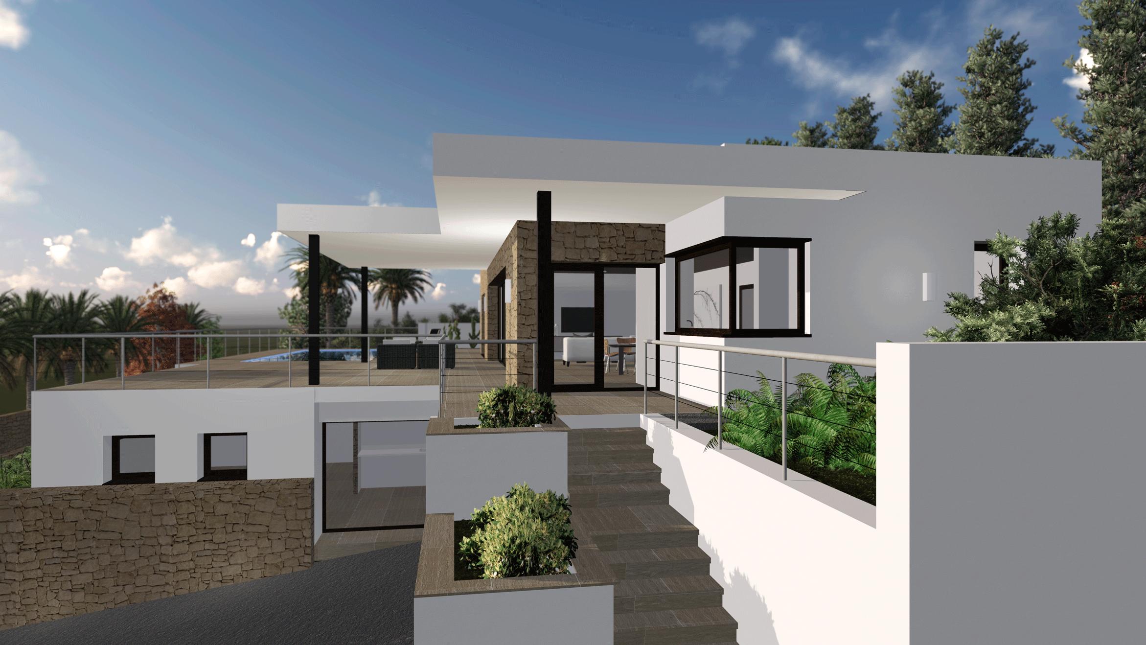 Vivienda en benitachell bac estudio - Arquitectos espanoles actuales ...