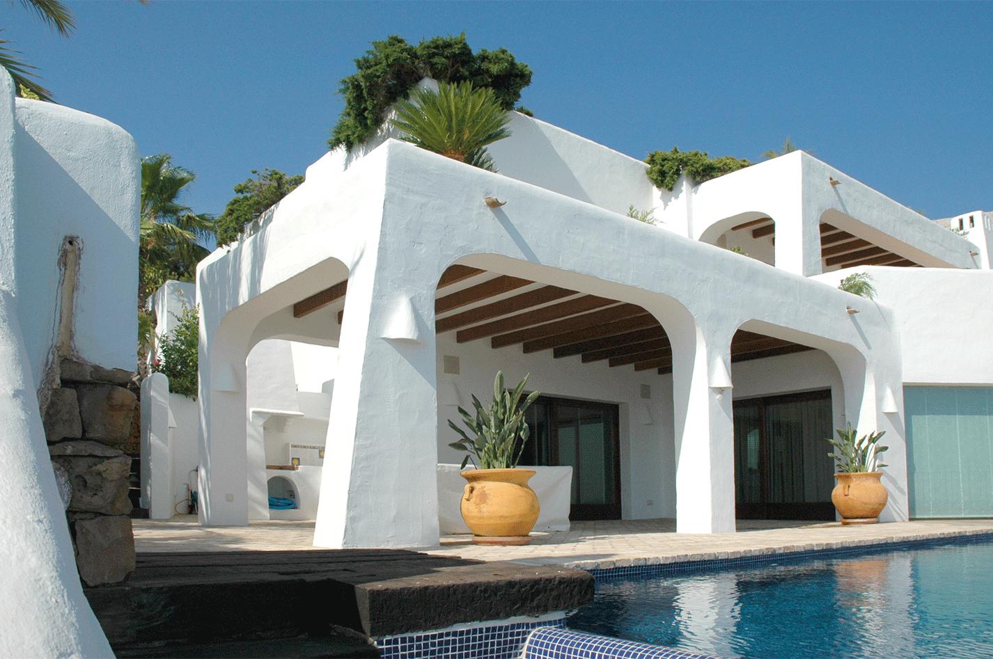 Casas ibicencas casa en cumbre del sol casa de lujo en for Arquitectura ibicenca